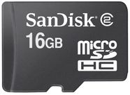 Sandisk 16GB micro SDHC card