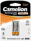 Camelion Rechargeable Batteries Ni-MH 2x AAA (R03) 1100mAh