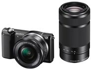 Sony Alpha A5000 Black 16-50mm / 55-210mm KIT