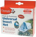Clippasafe Universal Stroller/Pram/Carrycot Insect Net Black
