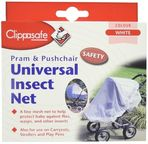 Clippasafe Universal Stroller/Pram/Carrycot Insect Net White