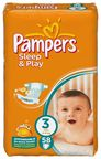 Pampers Sleep&Play 58