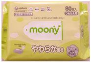 Moony Wet wipes 80 pc