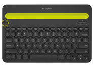 Logitech K480 Bluetooth Multi-Device Keyboard Black