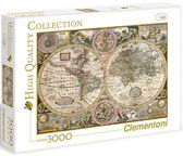 Clementoni puzzle 3000 Old Map HQC 33531