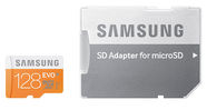 Samsung 128GB EVO MicroSDXC + Adapter