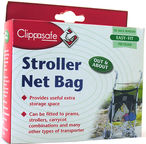 Clippasafe Stroller Net Bag Black