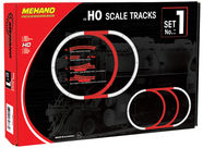 Mehano Blister HO Scale Rails Tracks Set No.1 F101
