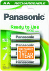 Panasonic Evolta P-6E rechargeable battery 4 x AA 1900mAh