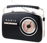 Camry CR 1130 Retro Radio Black