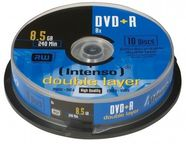 Intenso DVD+R DL 8X 8.5GB Double Layer 10 Pack Spindle