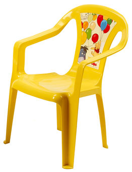 Home4you Baby Chair Disney Winnie Pooh Yellow  5.37
