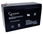 Gembird Rechargeable Battery 12V 9AH for UPS