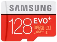 Samsung 128GB Micro SDXC Evo Plus Class 10 + SD Adapter