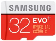 Samsung 32GB Micro SDHC Evo Plus Class 10 + SD Adapter