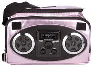 Fydelity X Mixid Chillout Cooler Thermo Bag with Speakers Pink