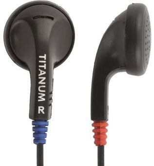 Esperanza Titanum TH102 Stereo Earphones Black