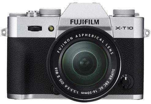 Fujifilm X-T10 Silver + XC 16-50mm