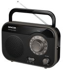 Sencor Portable Radio SRD 210 Black