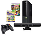 Microsoft XBOX 360 Stingray 4GB + Kinect + Kinect Adventures + Kinect Sports Ultimate