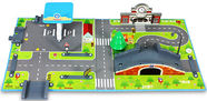 Silverlit Robocar Poli Brooms Town Map Energy Station 83248