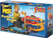 Bburago Street Fire Parking Playset 18-30025
