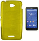 Forcell Jelly Brush Back Case For Sony E2104/E2105 Xperia E4 Green