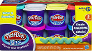 Hasbro PlayDoh Plus 8 Pack A1206