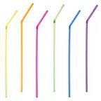 Pap Star Straws 60pcs Multicolour