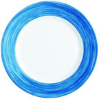 Luminarc Brush Blue Dinner Plate 23.5cm