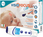 Tecnimed VisioFocus Digital Infra Red Thermometer 6 In 1 w/ Case 6400