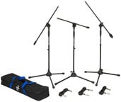 Samson Boom Stand & Cable 3-Pack