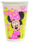 Dajar Minnie Plastic Glass 200ml 8pcs