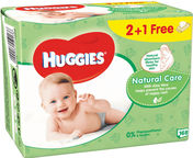 Huggies Natural Care 168pcs