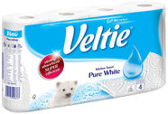 Veltie Pure White 4pcs