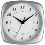 TFA Wall Clock Silver