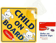 Clippasafe Baby On Board Sign CLI 53