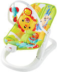 Fisher Price Rainforest Friends Fun & Fold Bouncer CMR20