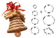 Tescoma Delicia Christmas Bell Set of Cookie Cutters
