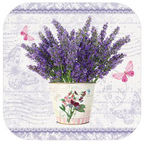 Paw Decor Collection Flowering Lavender 10.5cm 4pcs