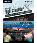 Microsoft Flight Simulator X Steam Edition Incl. Discover Europe Double Pack PC