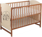 Minikid Miki Baby Bed Walnut/Cream Bears