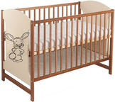 Minikid Miki Baby Bed 103 Walnut/Cream Bunny