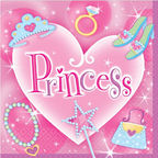 Amscan Princess Napkins 20pcs