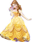 Amscan Princess Belle Mini Shape Foil Balloon 2847802