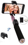 Remax Premium Bluetooth Selfie Stick With Built-in Button Pink