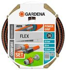 Gardena Comfort Flex Hose Set 20m 13mm