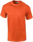 Gildan Cotton T-Shirt Orange M