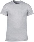 Gildan Cotton T-Shirt Grey M