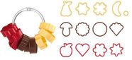 Tescoma Delicia Traditional Cookie Cutters 13pcs